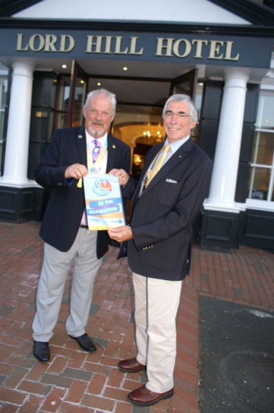 Rotary Club of Shrewsbury Severn home page