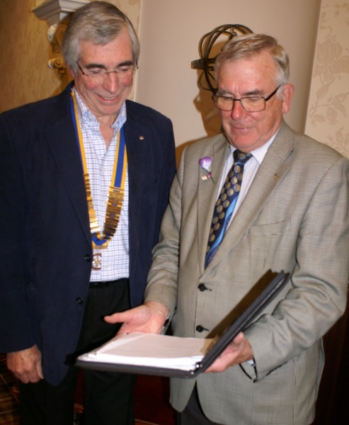 20a1472f5c63 He was introduced by Shrewsbury Severn Rotary Club's International and  Fundraising Committee Chair John Law and was thanked by the President  Julian Wells ...