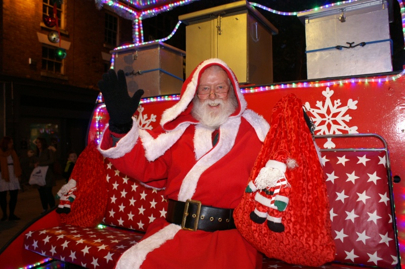 614207334d794 Donations from all the Santa sleigh visits support Rotary and