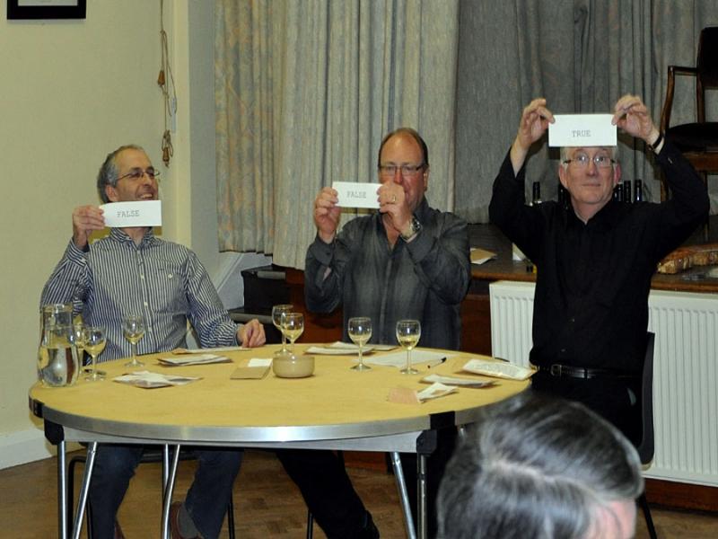 Masters of Wine panel David Nigel and Martin.