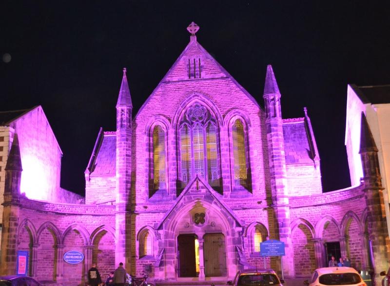 Stokesley Methodist Church goes Purple4Polio