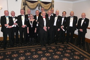 12 of the club's founder members