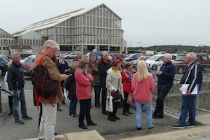 Visitors from Hoorn at Chatham Historic Dockyard