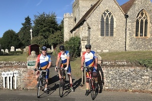Cycling for Kent Churches