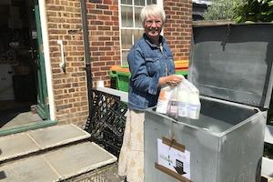 Rodmersham Coffee Shop drop-off point for Swale Foodbank