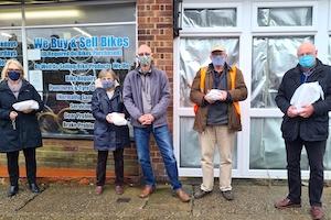 Delivering Fish n Chips in Sittingbourne