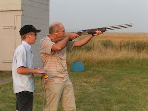 Graham Ledger clay pigeon shooting