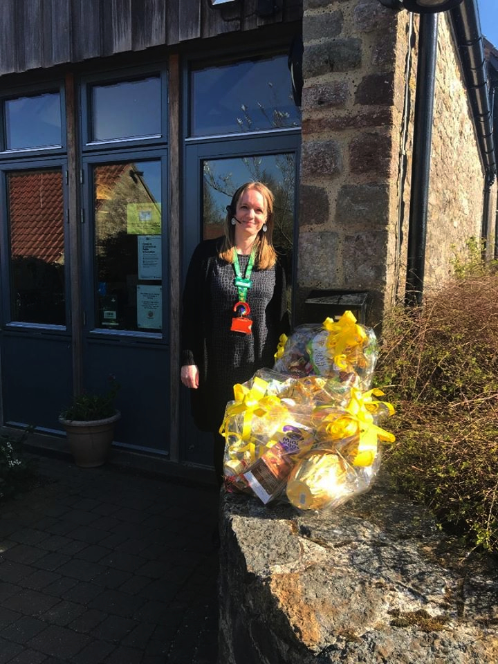 Easter Eggs Donated To Childrens Hospice S W by Clevedon Yeo Rotary Club