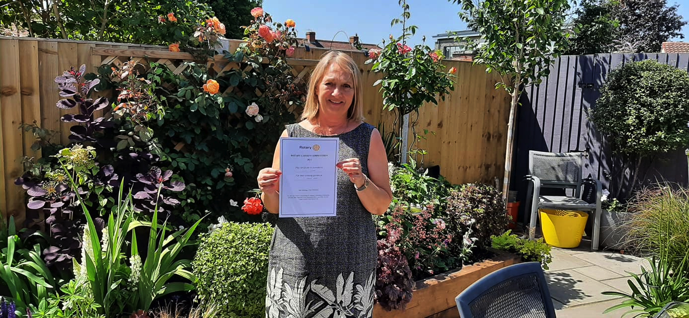 Clevedon Yeo Rotary Garden Competition 2021 Winner Formal