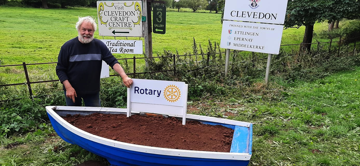 Clevedon Yeo Rotary Replacement boat welcome to Clevedon