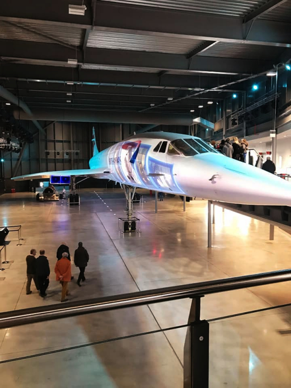 The Last Flying Concorde Bristol Aerospace Museum visit 2020 by Clevedon Yeo Rotary Club