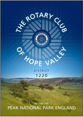 Hope Valley Rotary Club banner Rotary in the Peak District