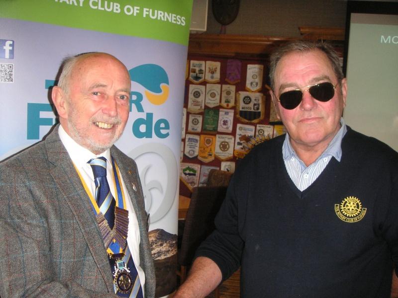 President Colin & Rtn Peter