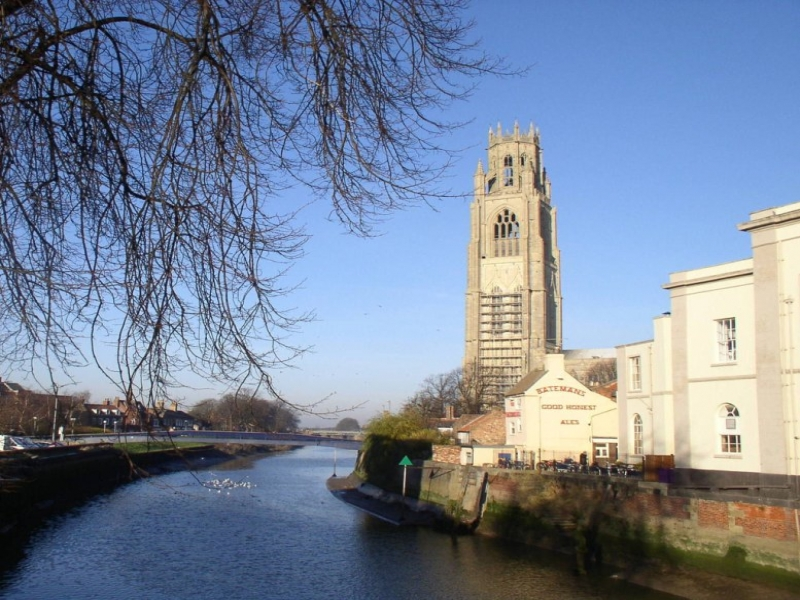 Boston Stump and River