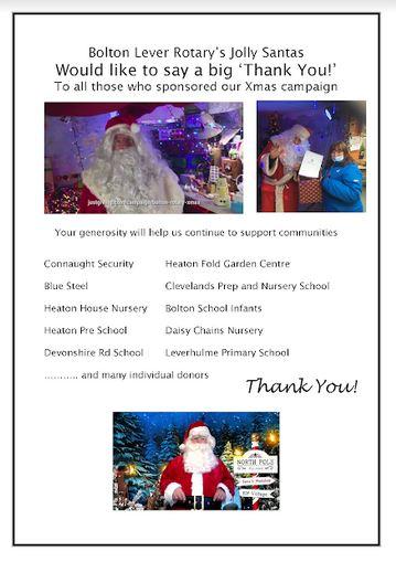 Santa Thank You 2020
