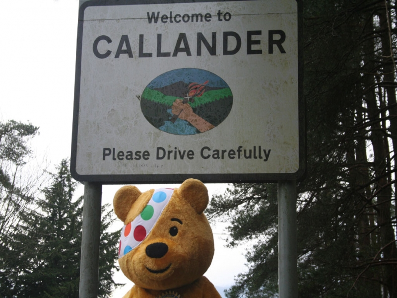 Pudsey Hits Callander
