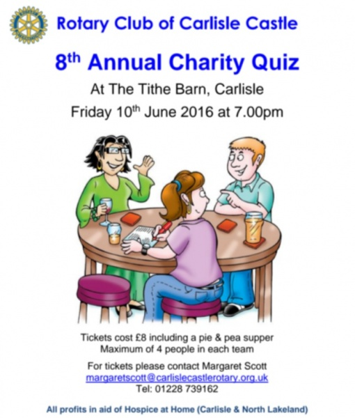 Flyer for 8th Annual Quiz