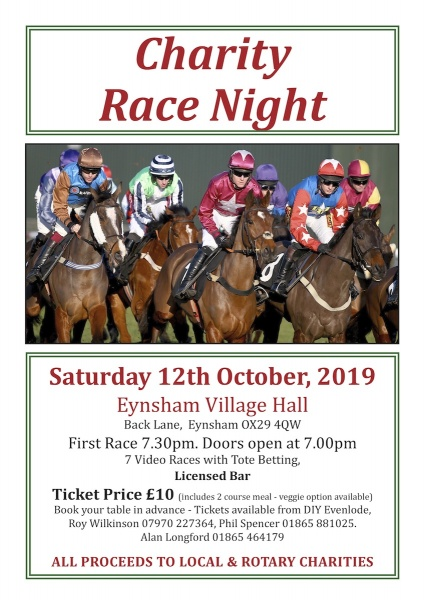 Race Night Poster
