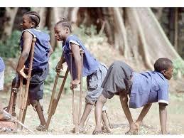 Children Polio sufferers