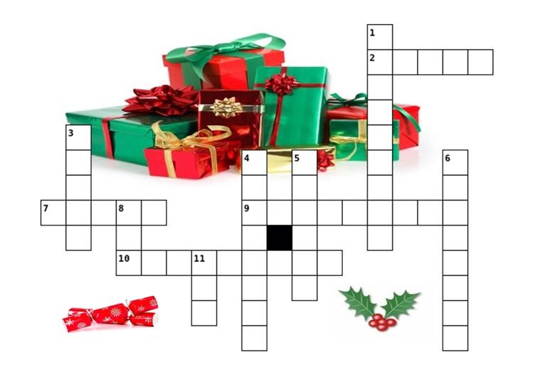 Christmas crossword 3