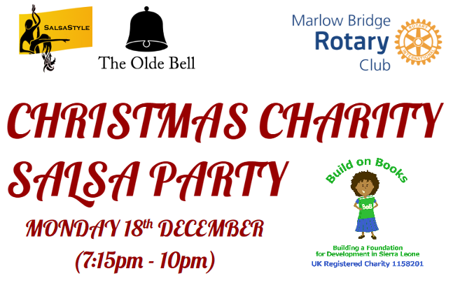 Christmas Charity Salsa Party