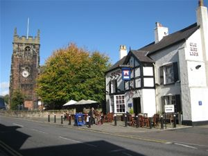 Holmes Chapel Church and Pub