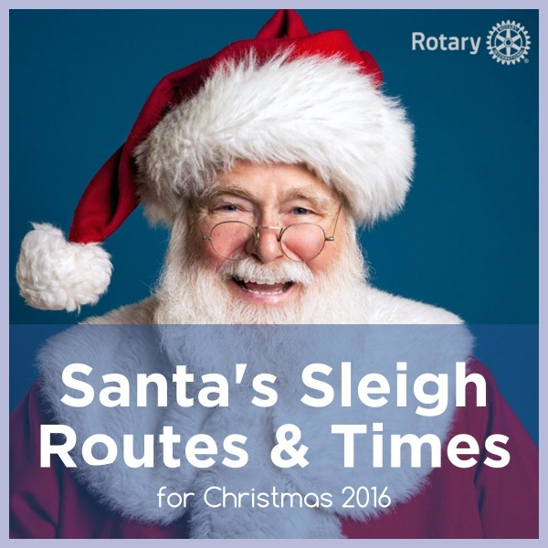 Horwich Rotary Christmas Float 2016