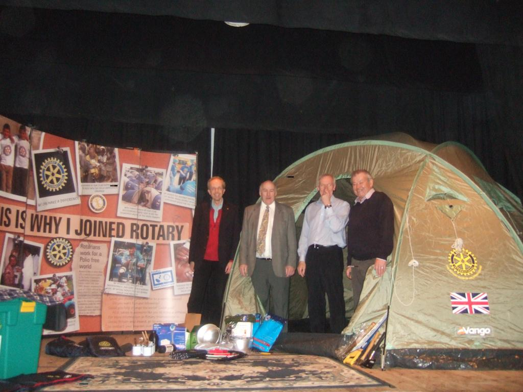 Rotary at Stour Business Fair 2010