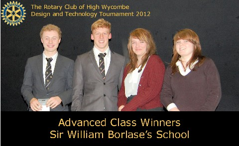 Borlase Advanced Winners