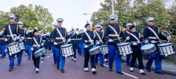 The K.G. Marching Band from Leiden in Holland