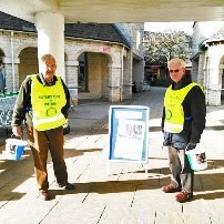 Witney Rotarianspoised to start collecting for the Sudan Famine Relief