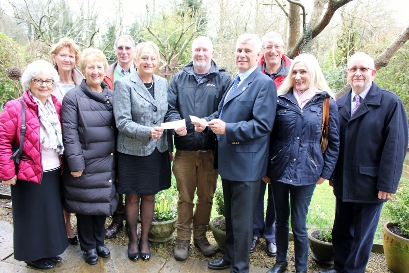 Presentation of funds to TWIGS at their Community Gatdens in Cheney Manor