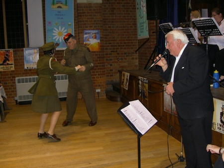 Dancing at the 1940's Evening