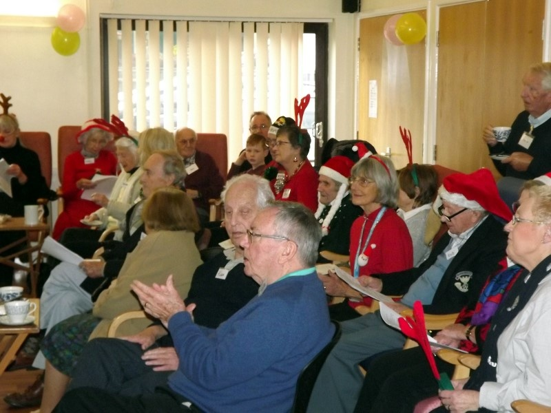 Christmas at the Memory Cafe