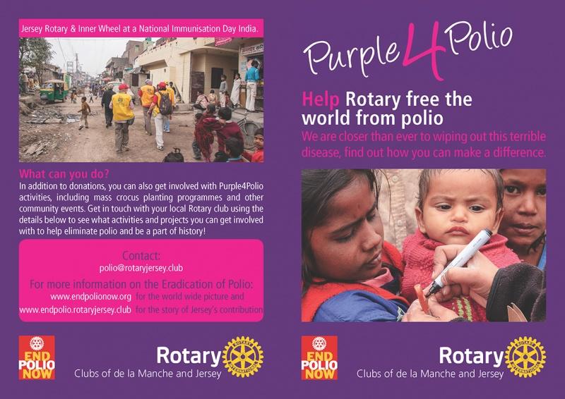 Purple4Polio Leaflet