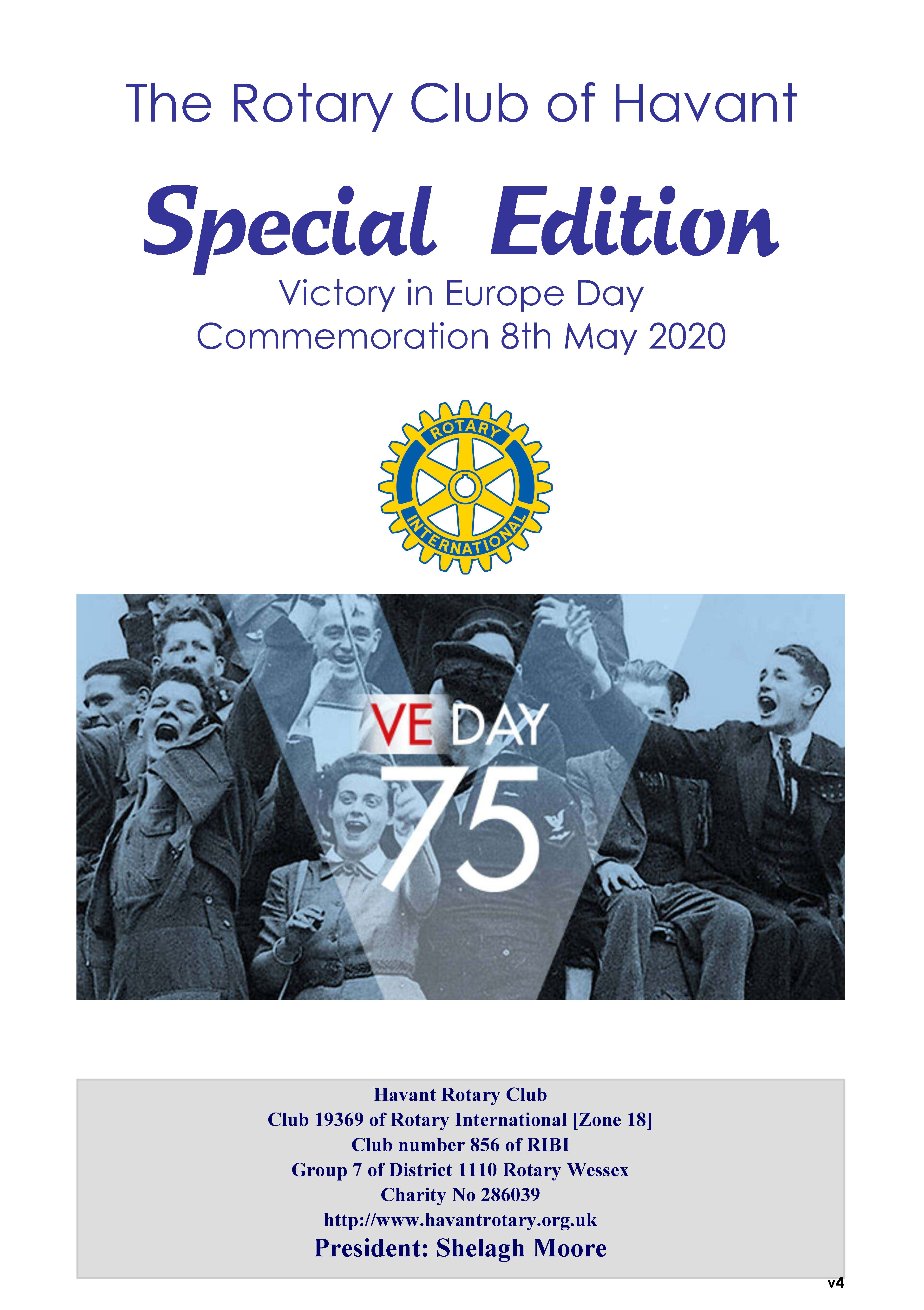 VE Day Special Edition