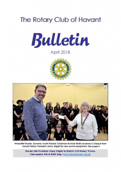April 2018 Bulletin cover
