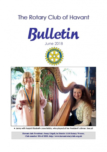 June 2018 Bulletin cover