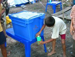 Indonesia Aqua box