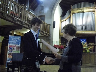 Young Musician Winner 2015 Angus