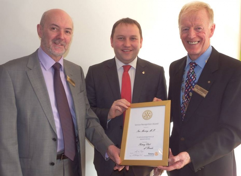 Ian Murray MP our new Honorary Member