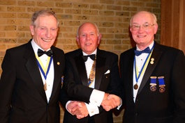 Paul Harris Sapphire Award to David Pentin and David Watts