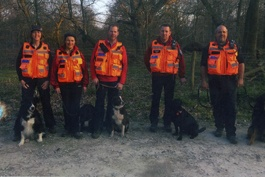 Search Team in High Viz Jackets