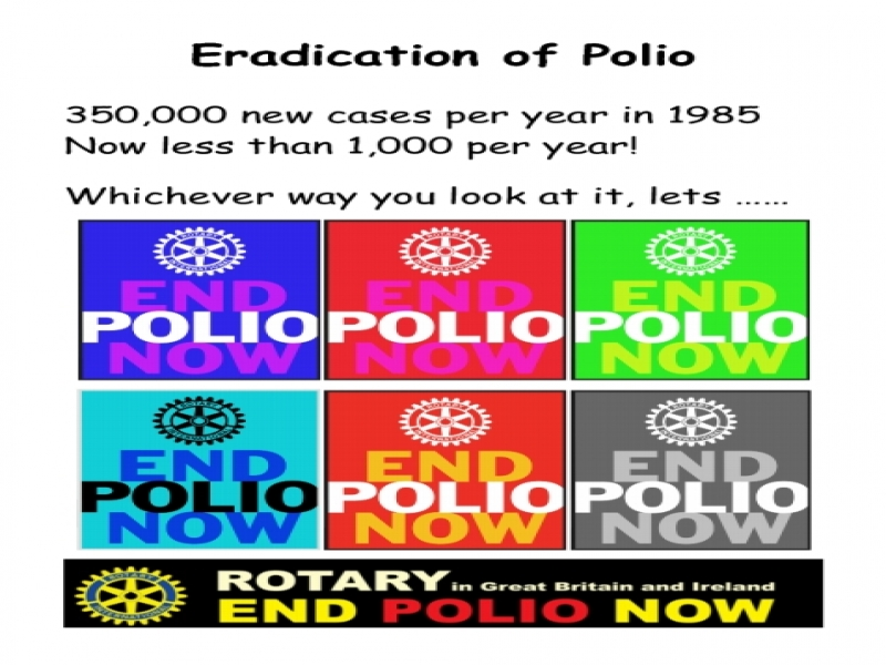 Let's Eradicate Polio Now!