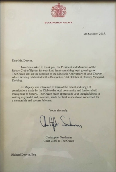Letter from the Queens Office