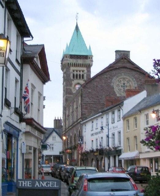 Abergavenny town centre