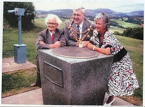 Rededication of Ridgeway Viewfinder in 1992