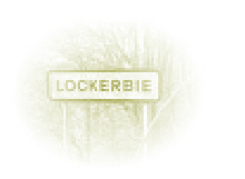 Lockerbie Road Sign