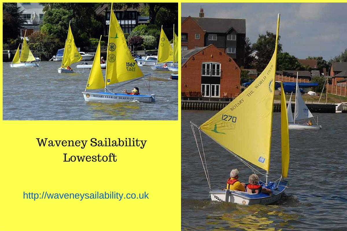 Community and Vocational - Service Above Self - Waveney Sailability - Three Clubs Project