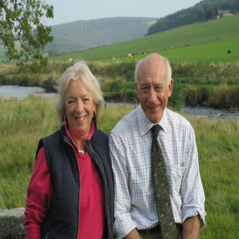 28/09 Rothiemay day - Margaret & Cliff